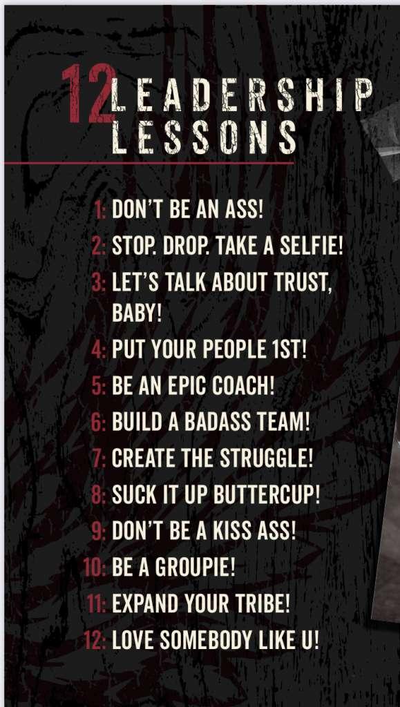 Badass Leader 12 Leadership Lessons
